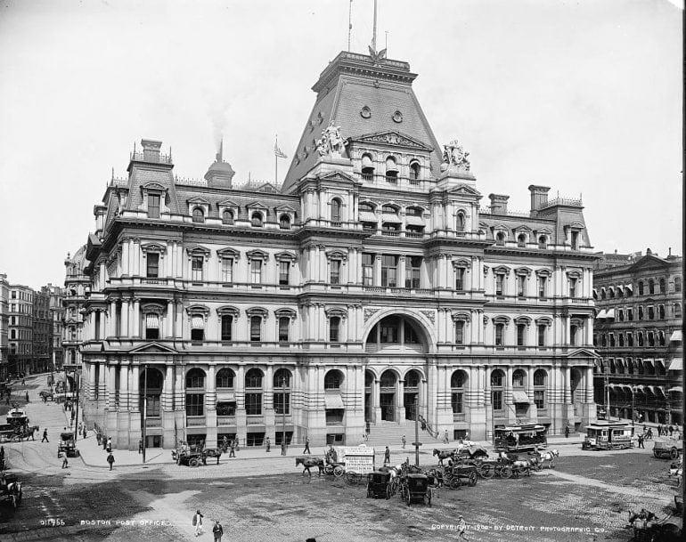 Boston post office