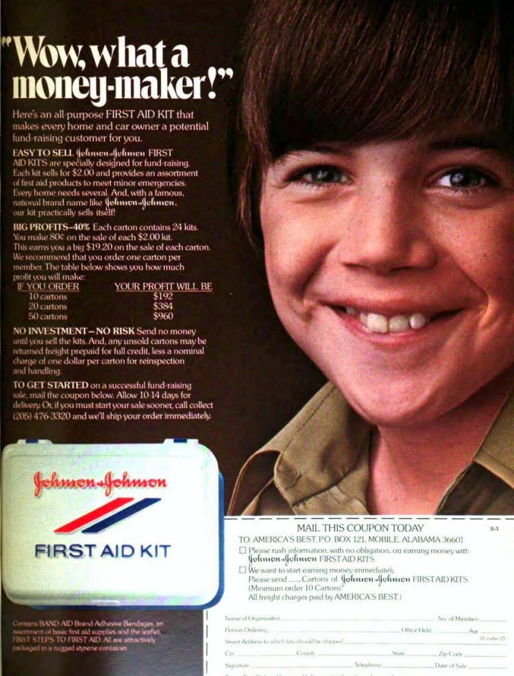 Boy Scout fundraisers - sales - Scouting 1974 (2)