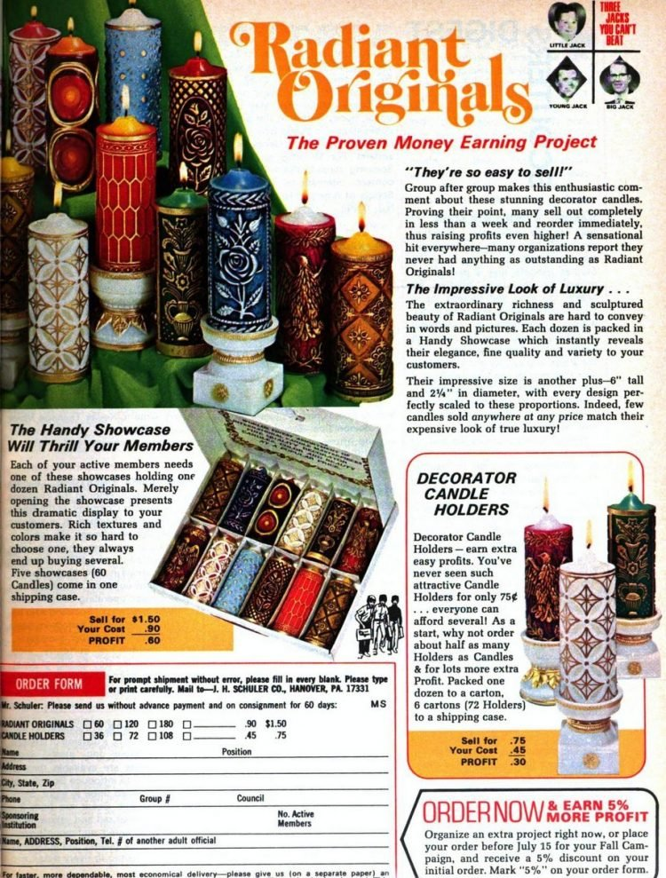 Boy Scout fundraisers - sales - Scouting 1974 (5)