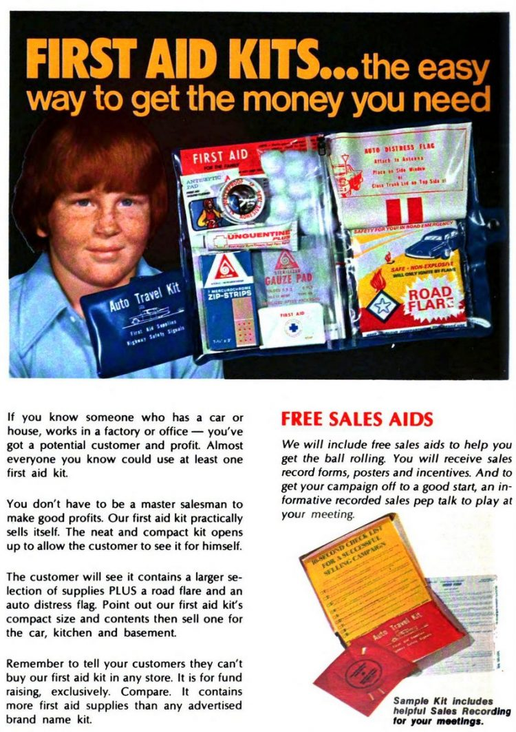 Boy Scout fundraisers - sales - Scouting 1974 (6)