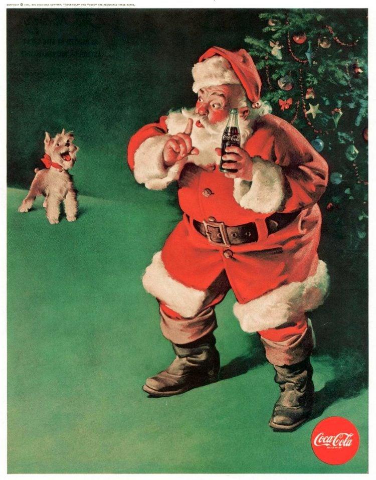 Boys' Life Dec 1961 Santa Coke