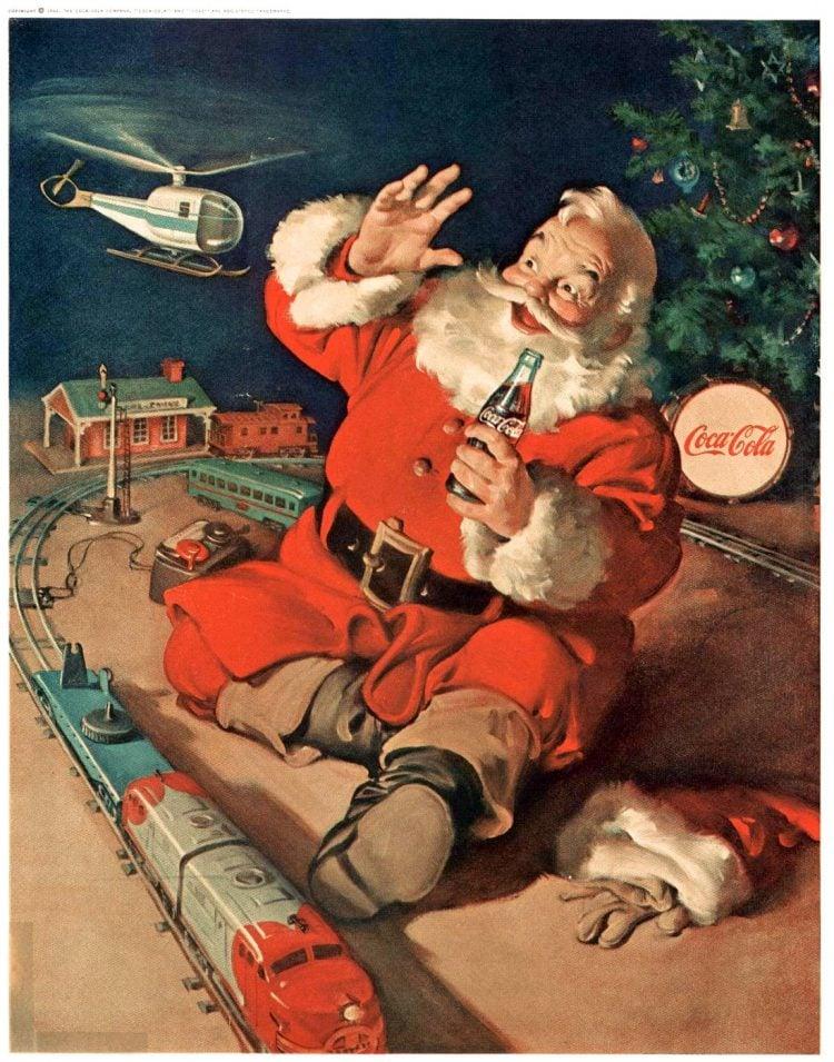 Boys' Life Dec 1962 Santa Coke