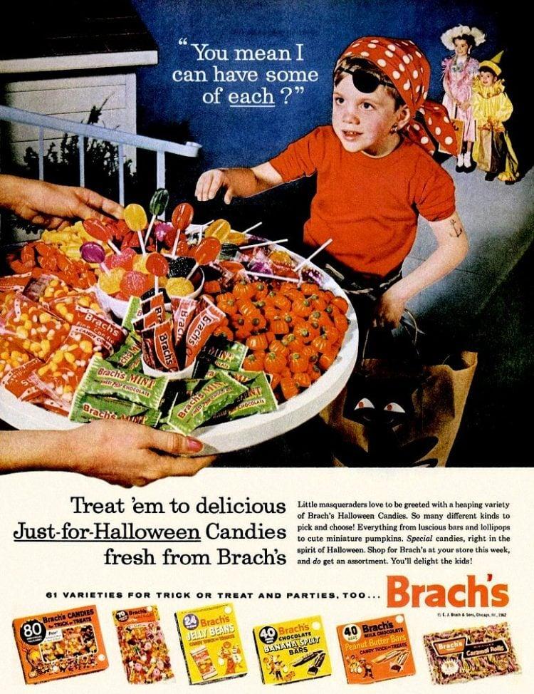 Brach's Halloween candy from 1962