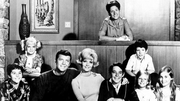 Brady-Bunch early family