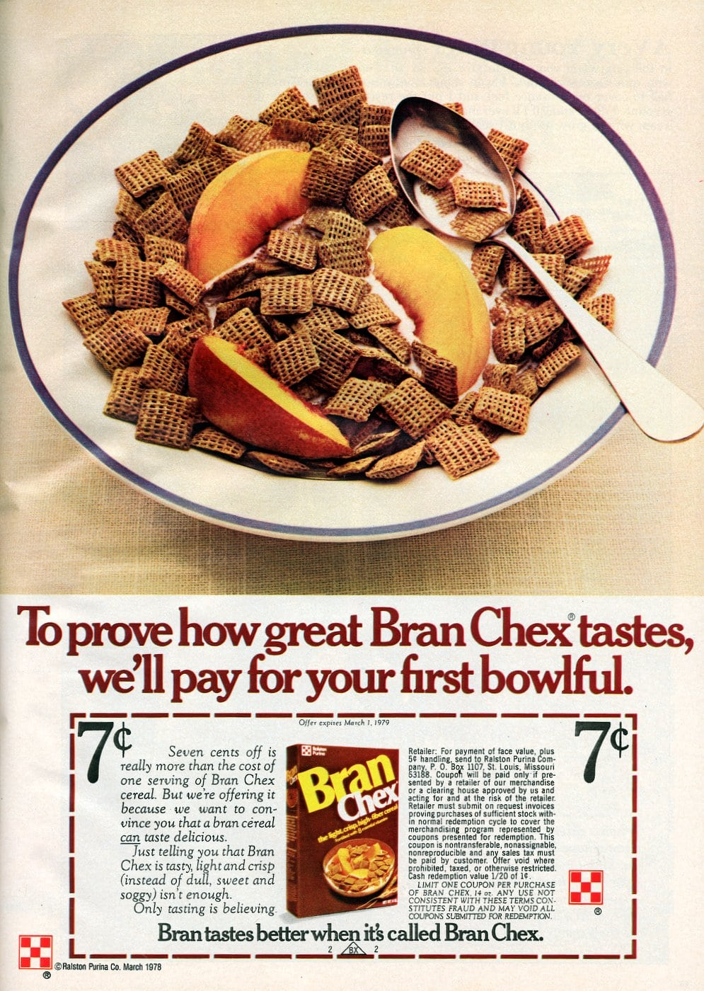 Bran Chex cereal (1978)