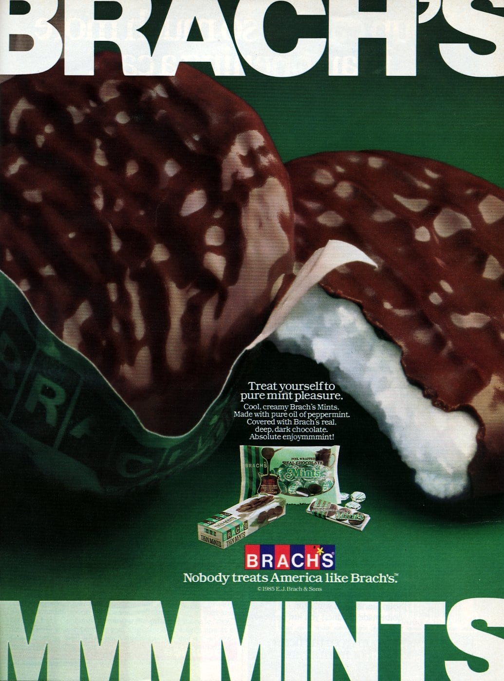Branch's mints candy (1985)