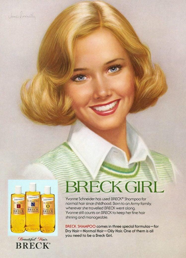 Breck Girl 1977 - Yvonne Schneide