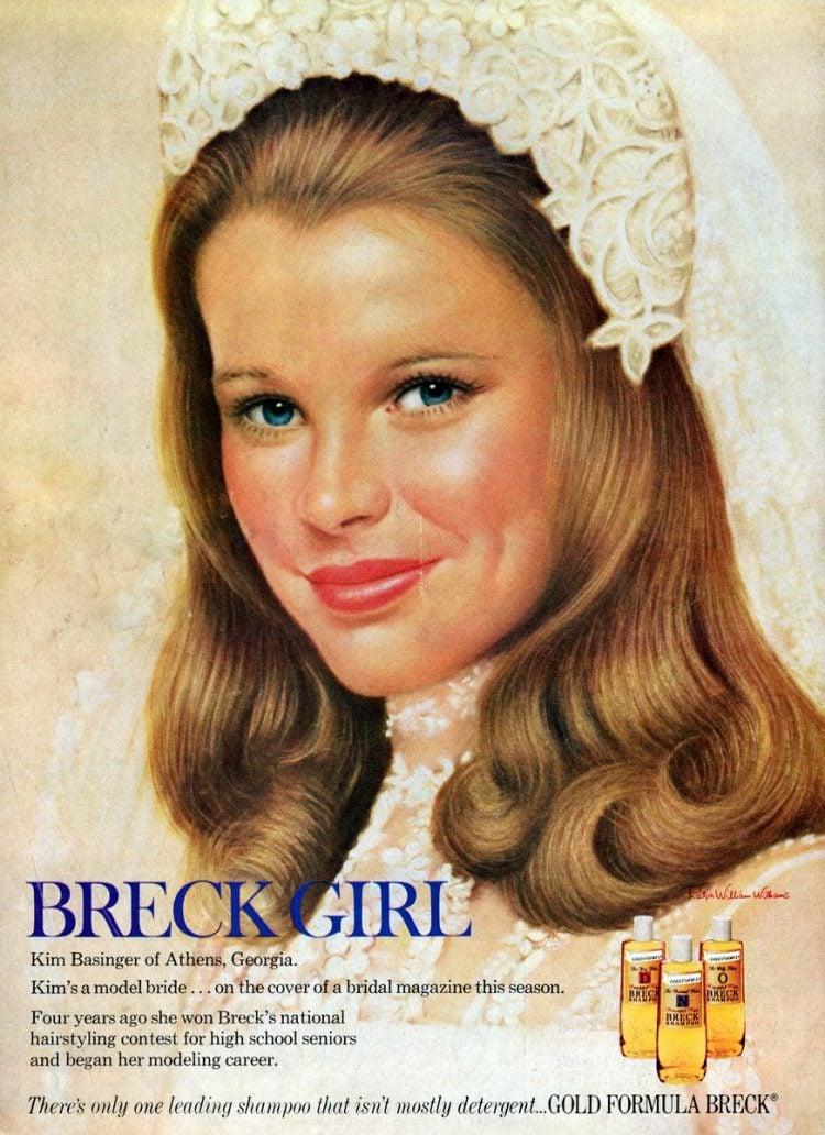 Breck Girl - Kim Basinger - 1974