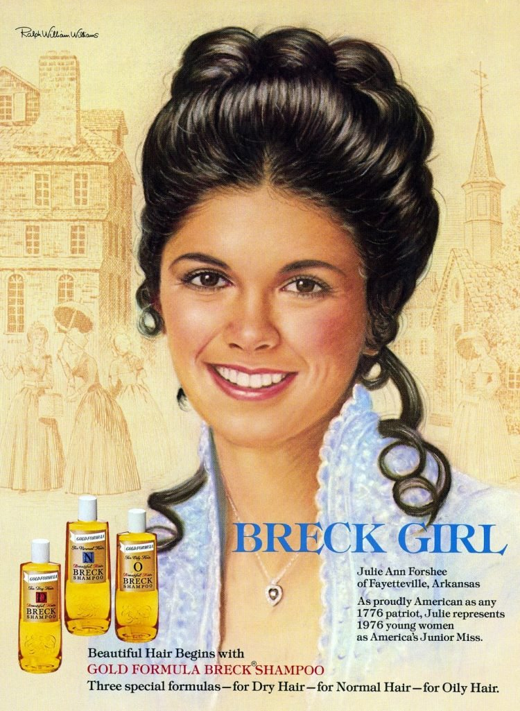 Breck ad from 1976 - Julie Ann Forshee