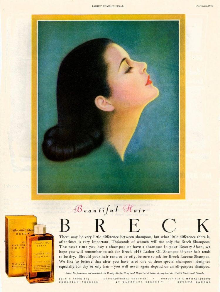 Breck beautiful hair - 1946