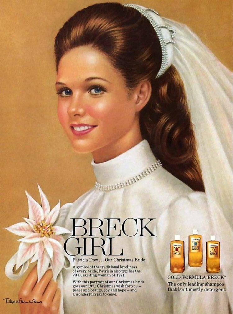 Breck - shampoo - 1971 - girl