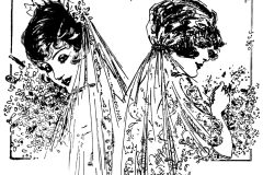 Brides and bridal gowns from 1914