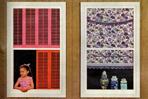 Bright, breezy easy windows - Home decor from 1963 (2)