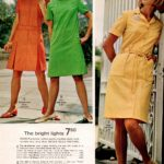 No-iron zip skimmers, step-in dresses and no-iron coatdress from the sixties