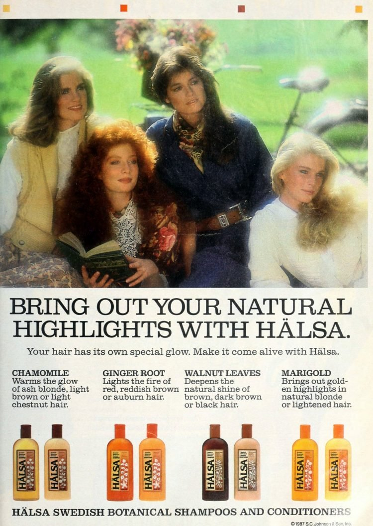 Bring out your natural highlights with Halsa shampoo 1987