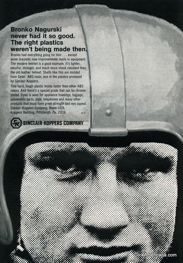 Bronko Nagurski never had it so good (1967)