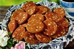 Brownie ice box cookies A retro 1960s recipe