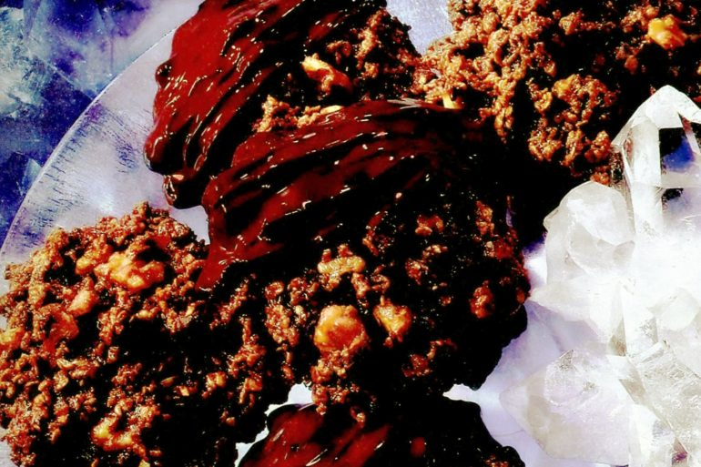 Brownie oatmeal gems retro recipe