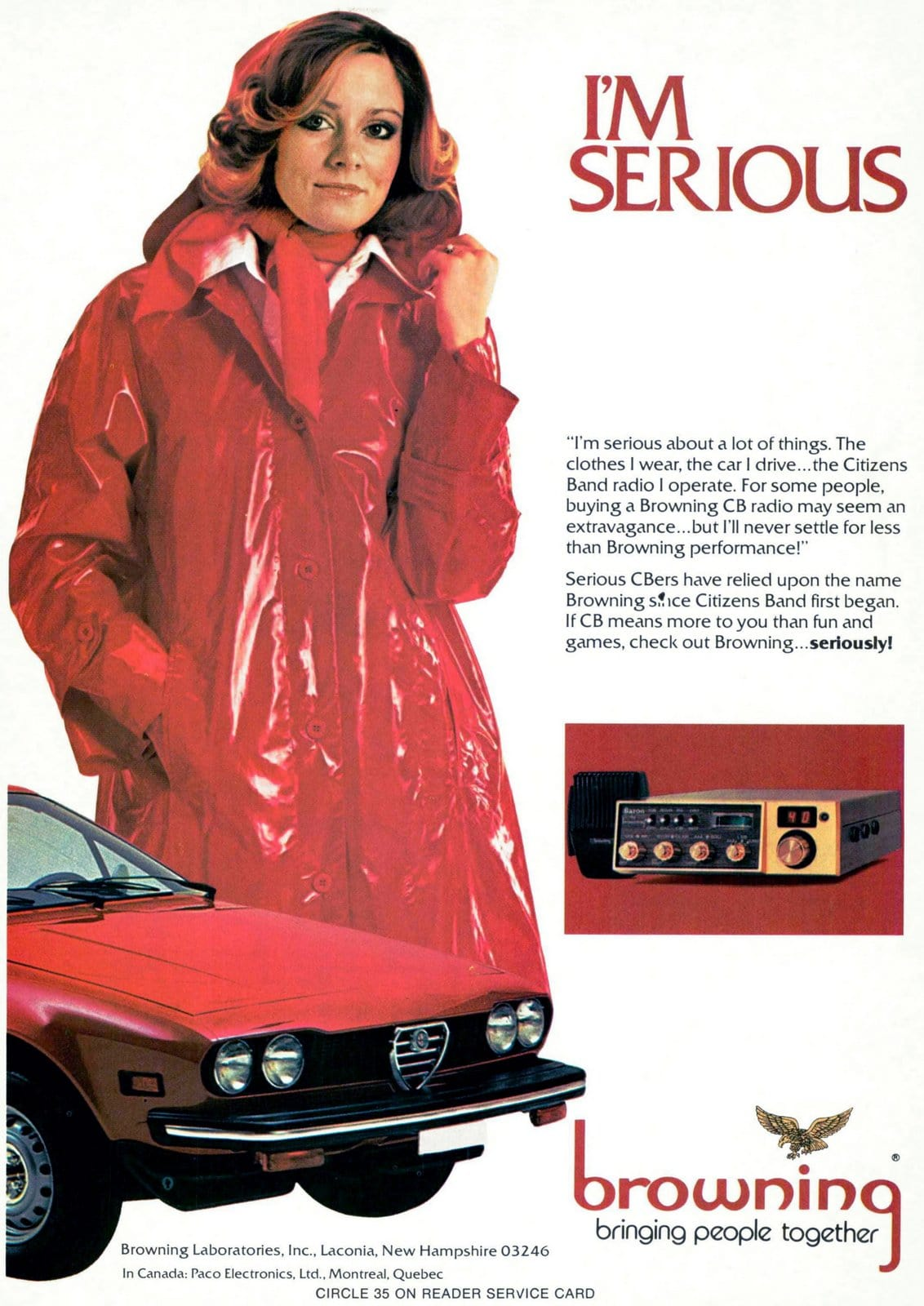 Browning CB radio (1978)