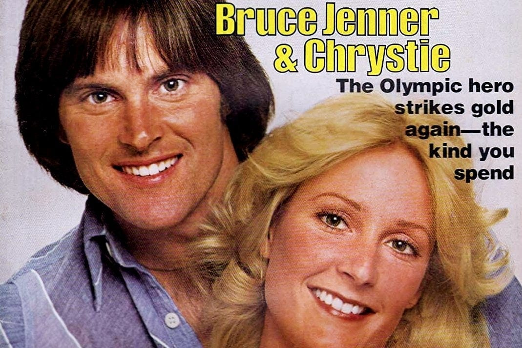 Bruce Jenner was an insurance salesman turned Olympic athlete