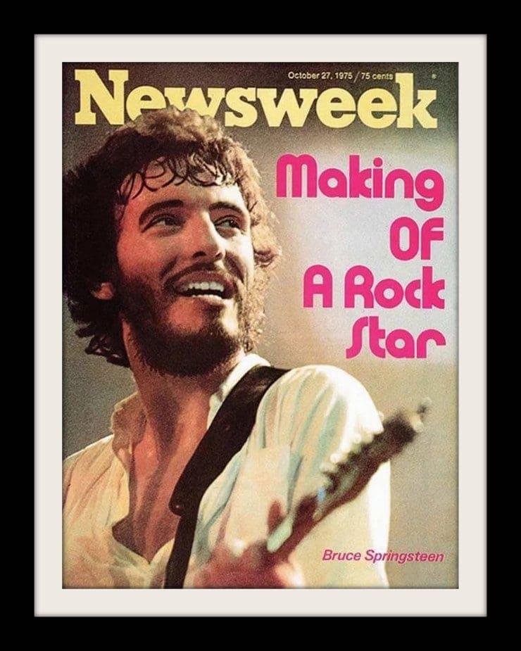 Bruce Springsteen - Magazine cover 1975-001
