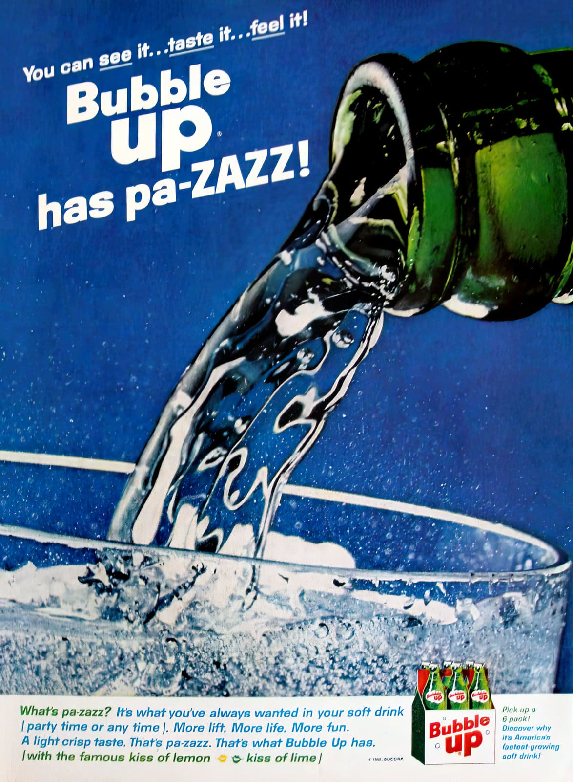 Bubble Up soda (1962)