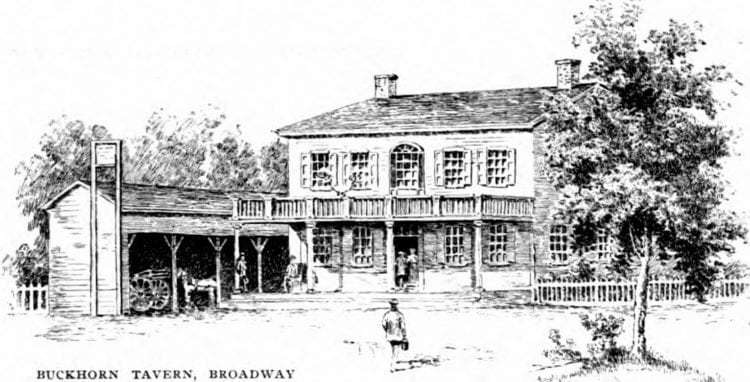 Buckhorn Tavern on Broadway - Old New York City