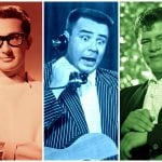Buddy Holly, Ritchie Valens Big Bopper killed in plane crash (1959)