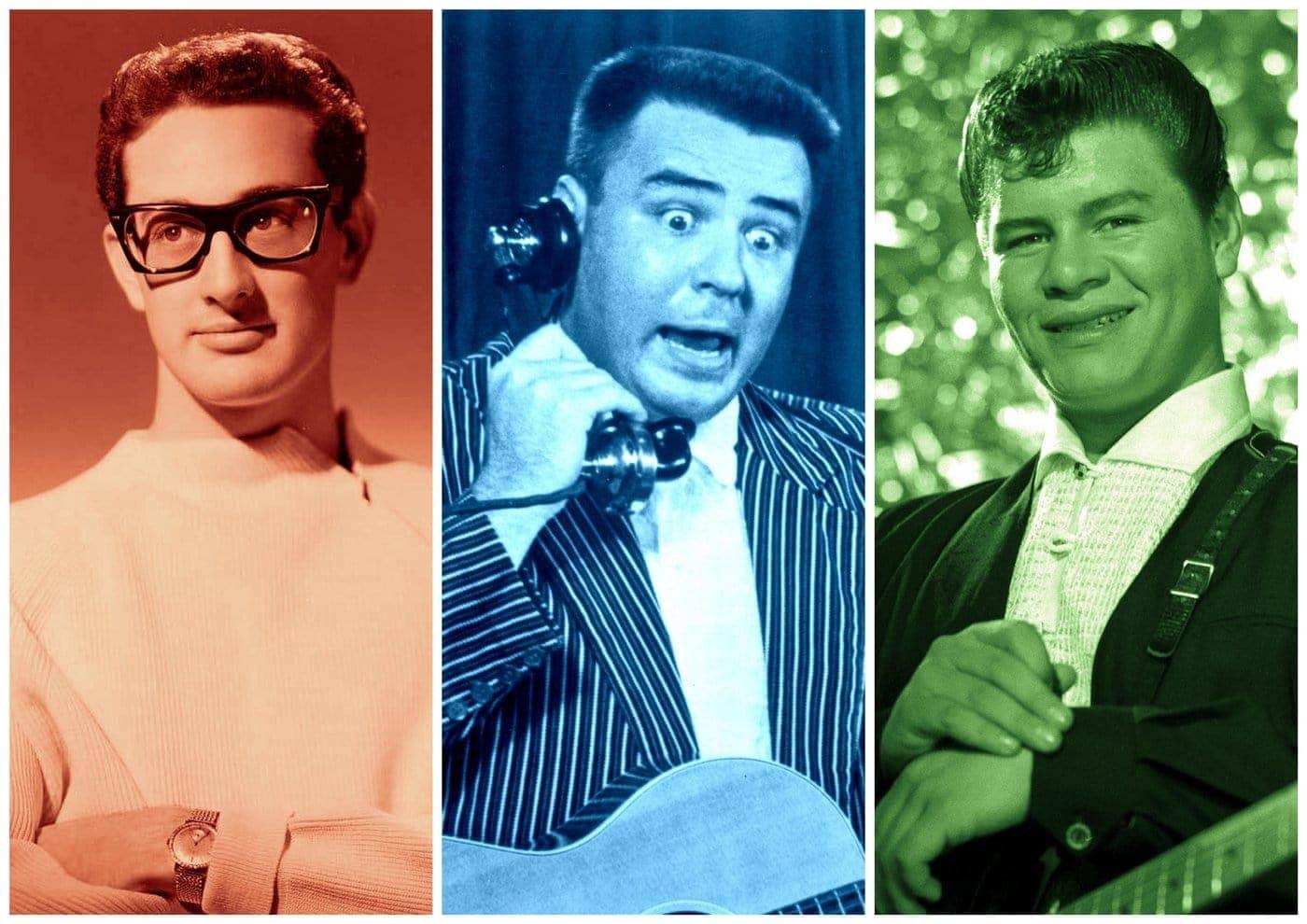 Buddy Holly, Ritchie Valens Big Bopper killed in plane crash (1959)