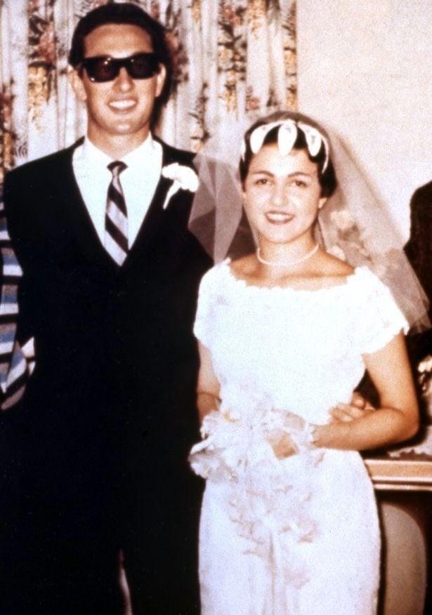 Buddy Holly and Elena wedding photo