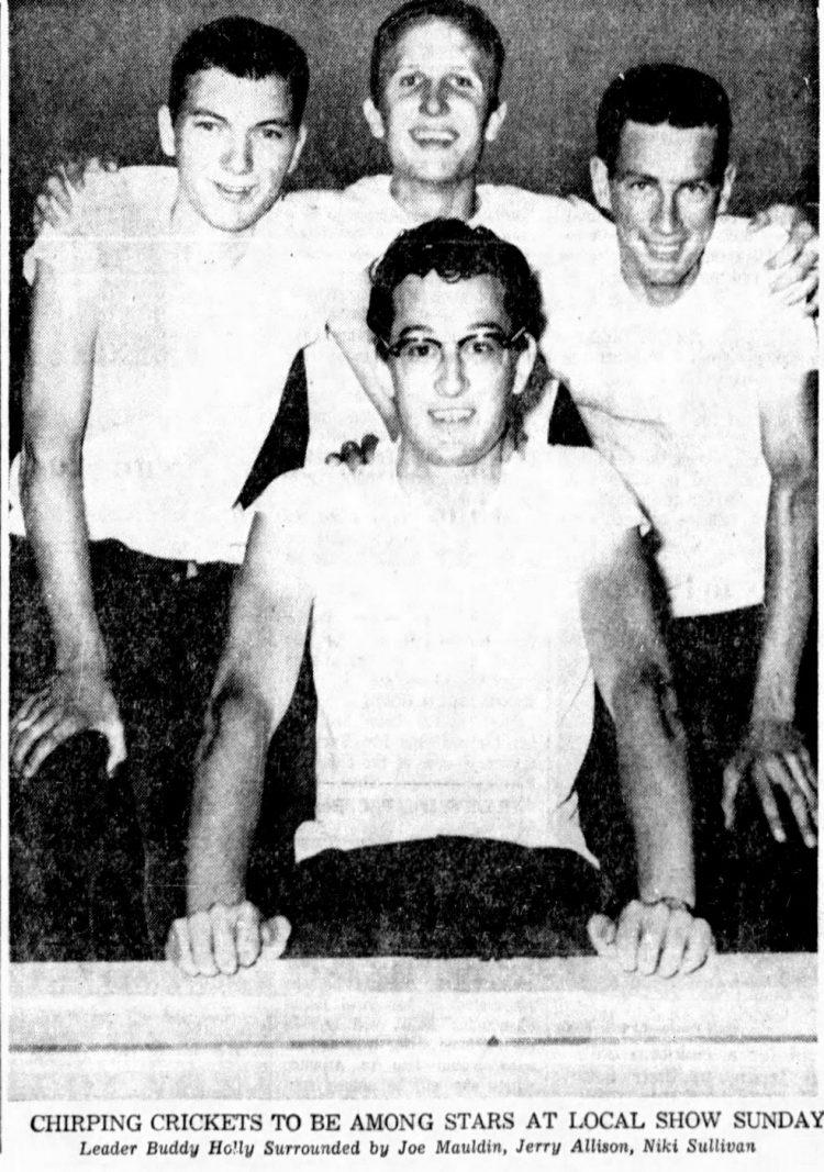 Buddy Holly and the Crickets - Atlanta September 1957