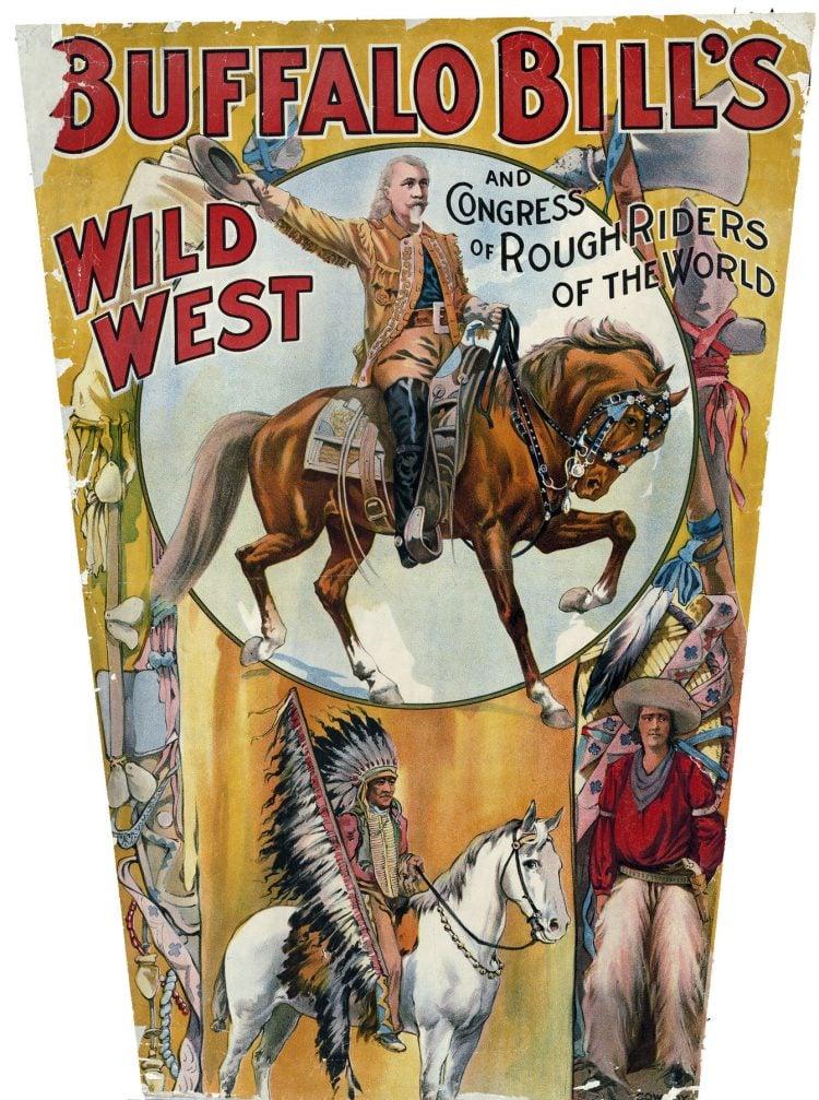 Buffalo Bill's Wild West Circus poster c1890 (1)