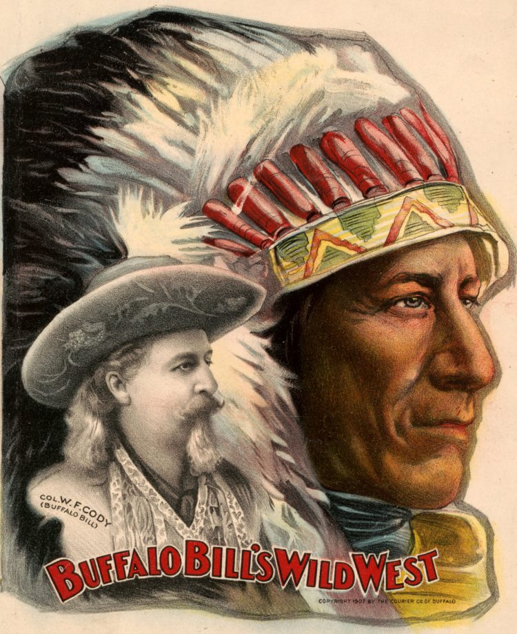 Buffalo Bill's Wild West and Congress of Rough Riders of the World (c1907)