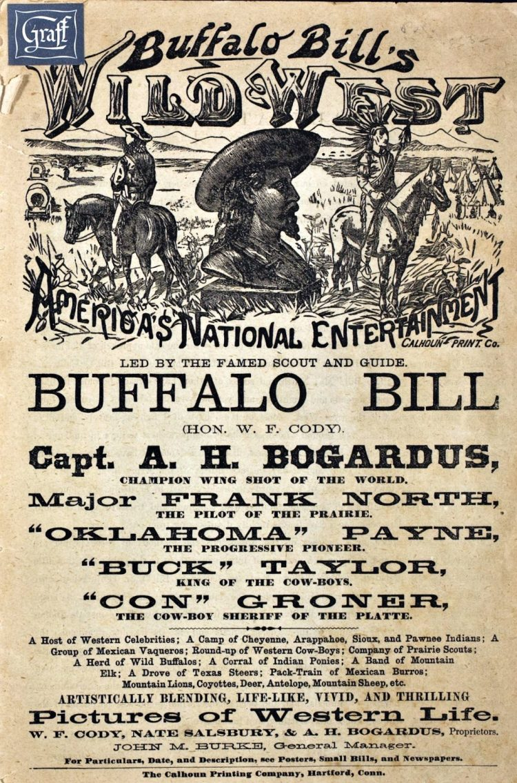 Buffalo Bill's Wild West - Congress of Rough Riders of the World credits