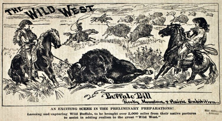 Buffalo Bill's Wild West and Congress of Rough Riders - Old shows (1)