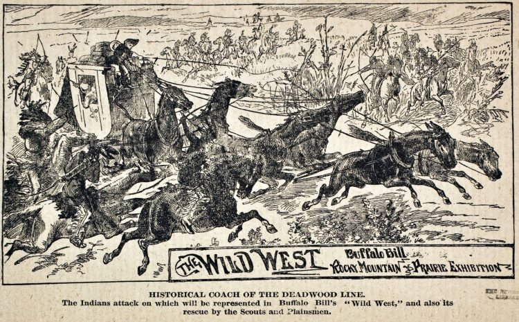 Buffalo Bill's Wild West and Congress of Rough Riders - Old shows (2)
