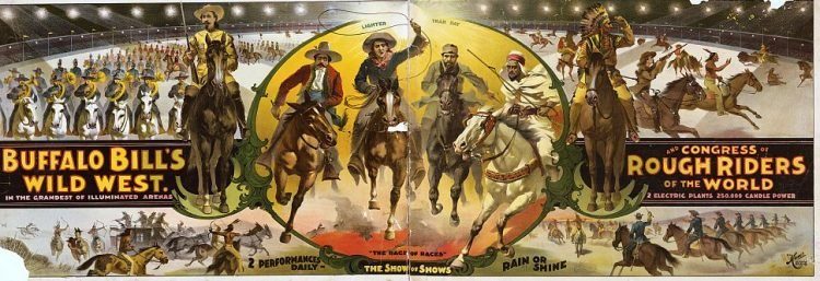 Buffalo Bill's Wild West and Congress of Rough Riders of the World 1895