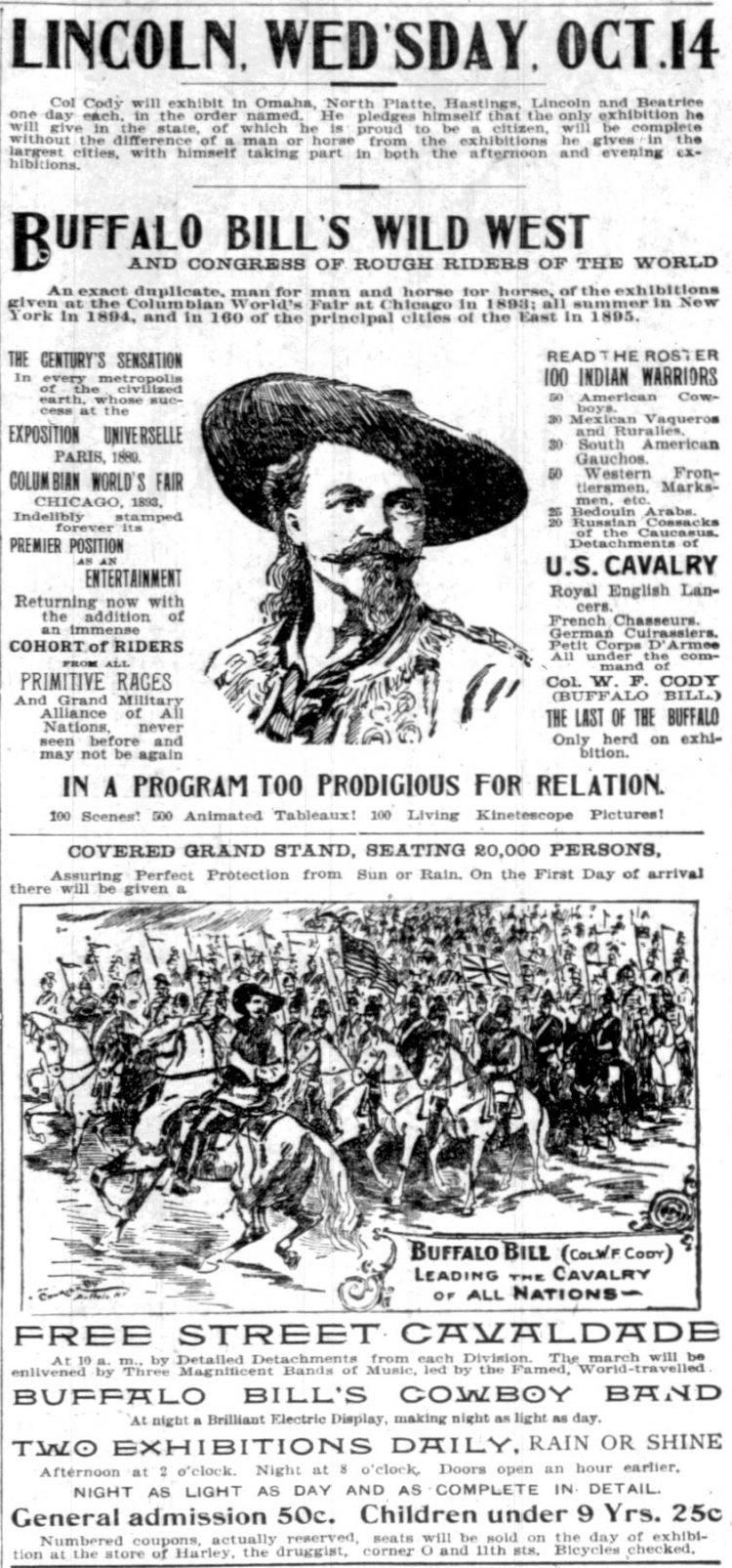 Buffalo Bill's Wild West (1896)