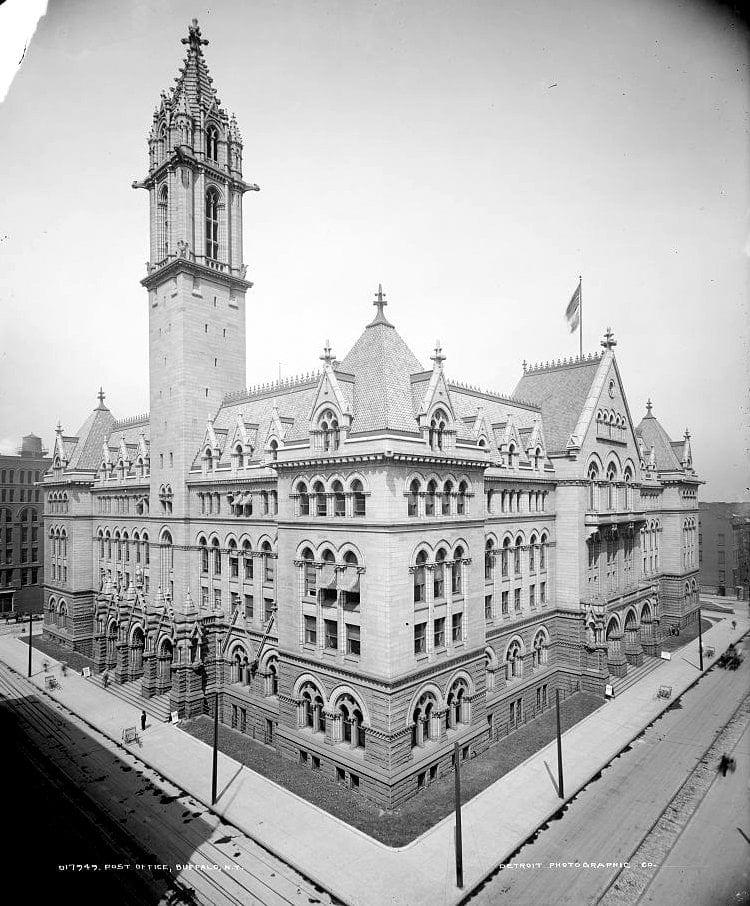 Buffalo, New York post office 1900s