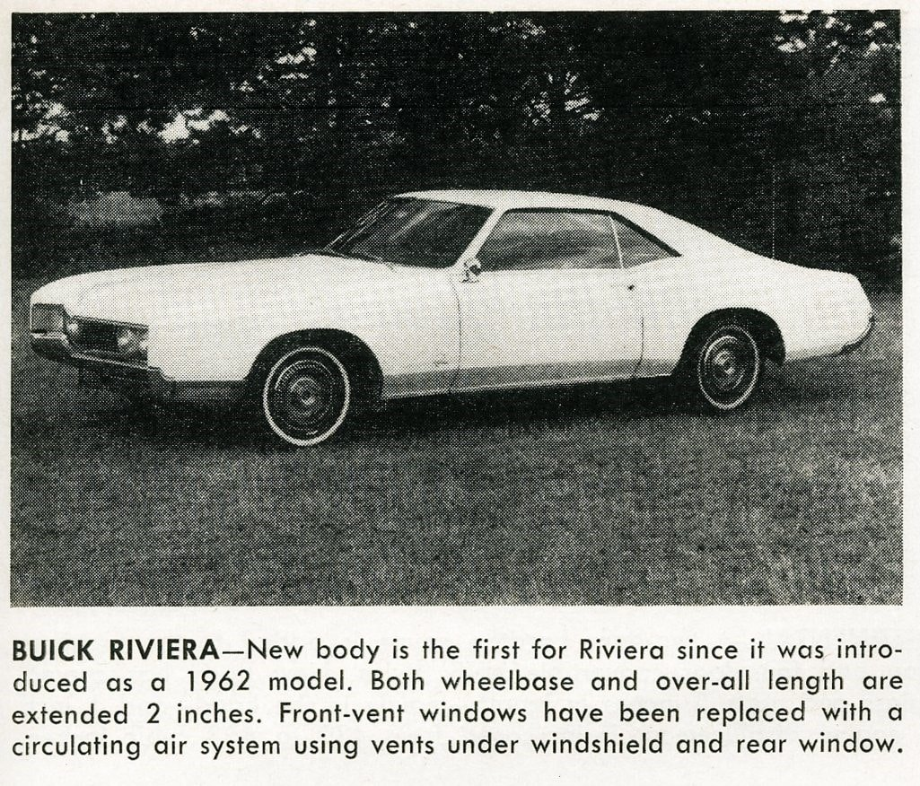 Buick Riviera -- Classic cars (1965)