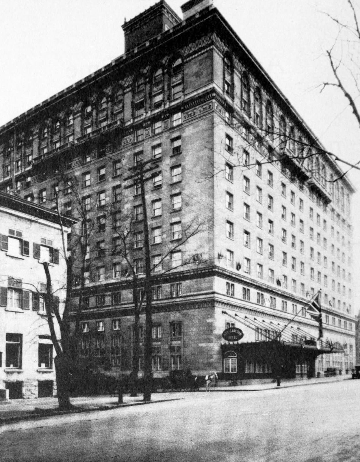 Building exterior - Old Ritz hotel in New York City
