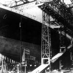 Building the Titanic steamship