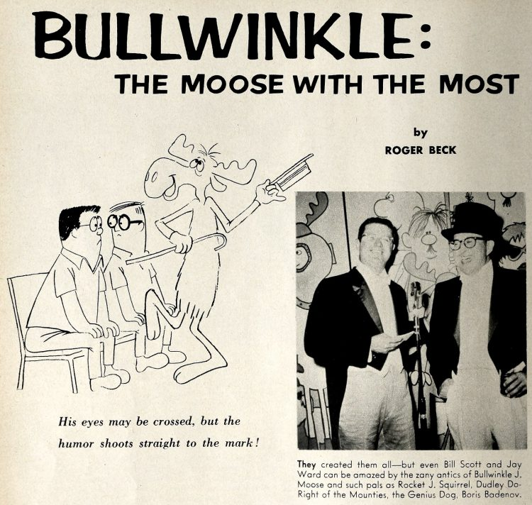 Bullwinkle The moose with the most 1962