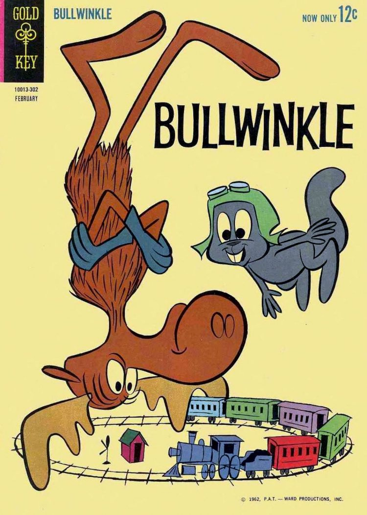 Bullwinkle comic book from 1963