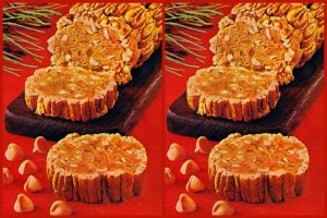 Butterscotch yule log A retro recipe for a sweet Christmas treat (1967)