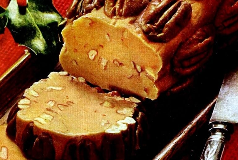 Butterscotch yule log recipe