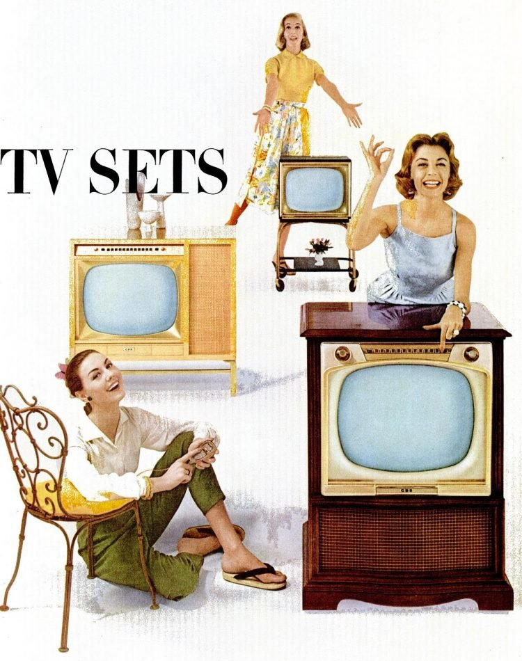 CBS television sets from 1956 (1)