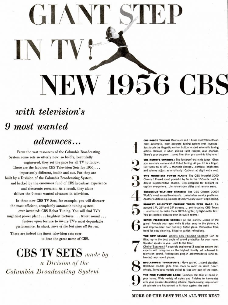 CBS television sets from 1956 (2)