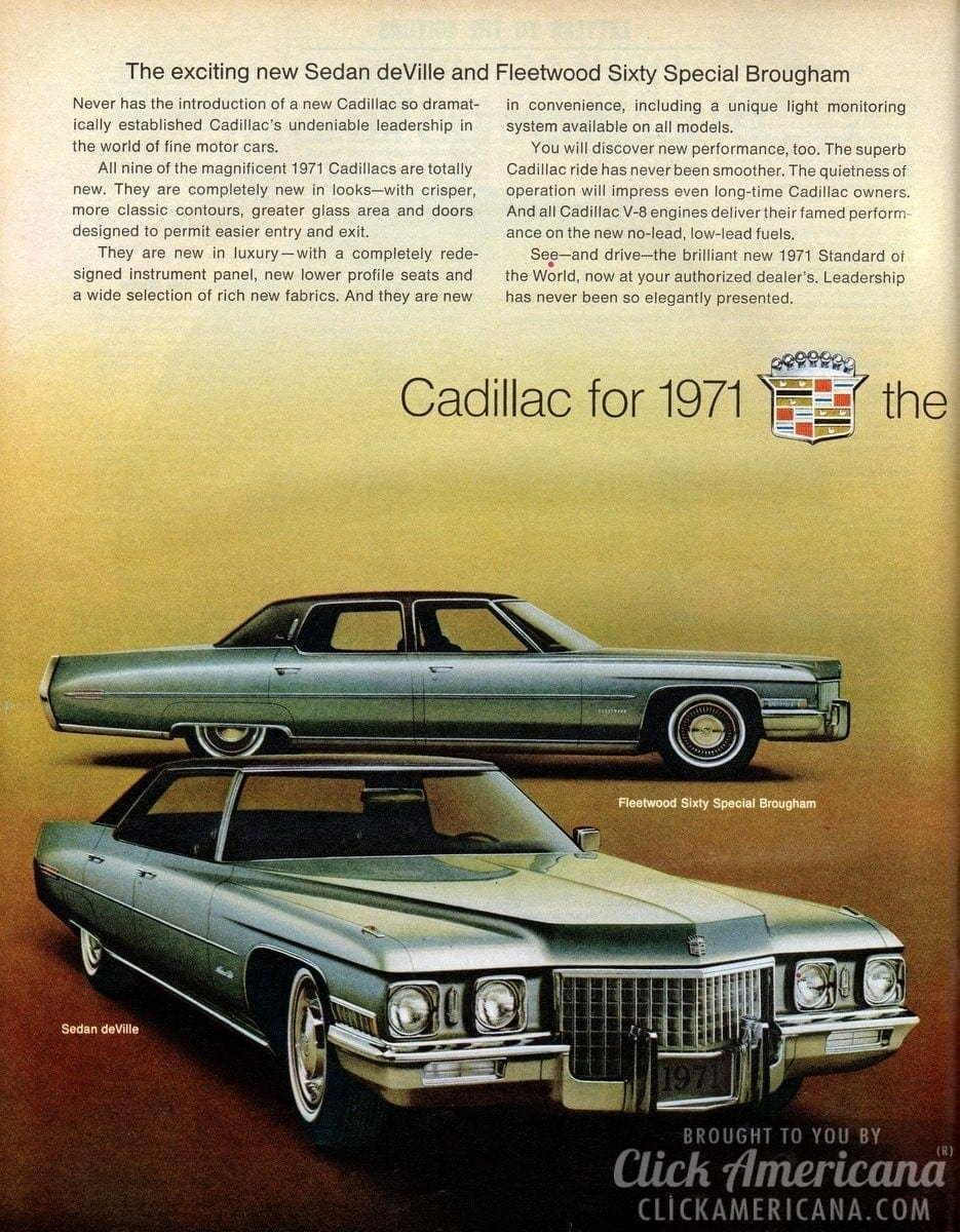 Cadillac: The new look of leadership (1971)