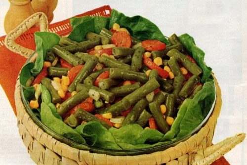 Calico bean salad recipe (1968)